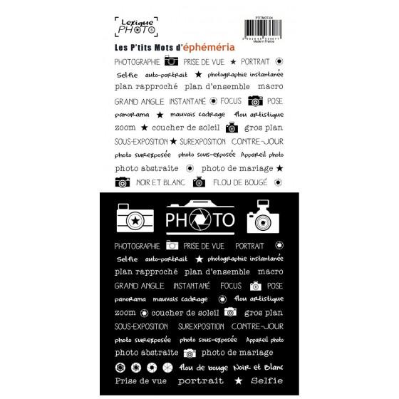 Stickers Lexique Photo (Fr)