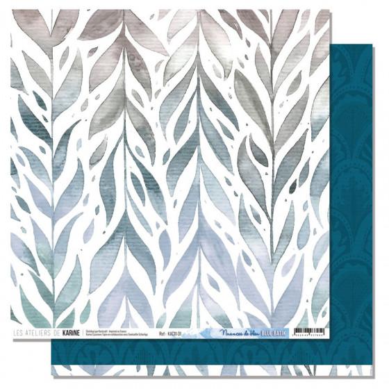 Blue Batik 1- Les Ateliers de Karine (lot 25)