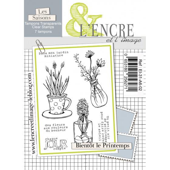 Clear Stamp Spring is Comming - L'Encre et l'Image