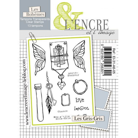 Clear Stamp Lucky Charms - L'Encre et l'Image