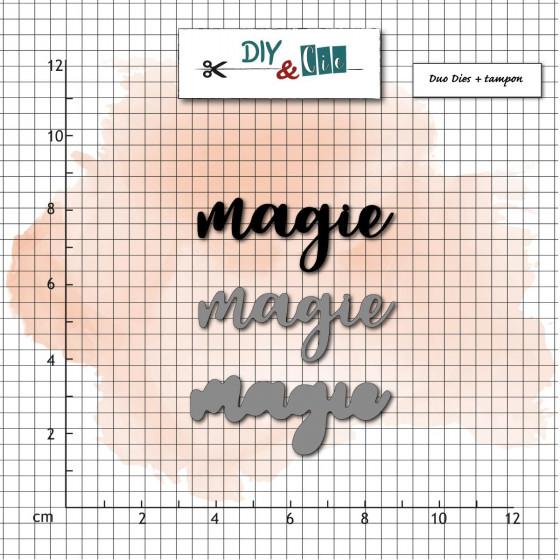 Dies et tampons Magie - DIY and Cie