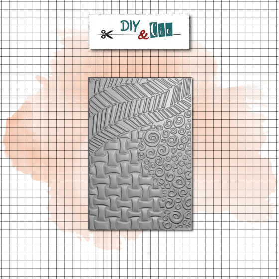 Embossing Folder 3D : Tangle - DIY and Cie