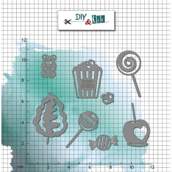 Dies : Bonbons - DIY and Cie