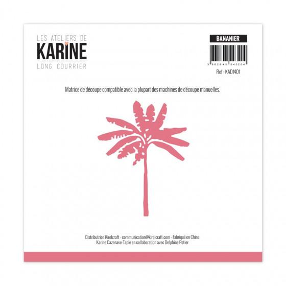 Die Long Courrier Bananier -Les Ateliers de Karine