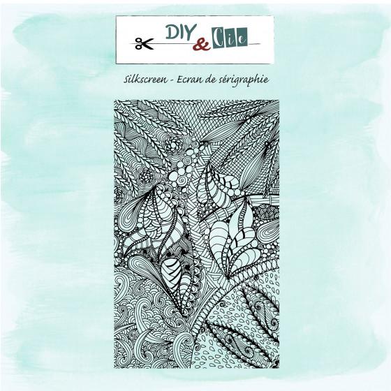 Silkscreen : Feuillages - DIY and Cie
