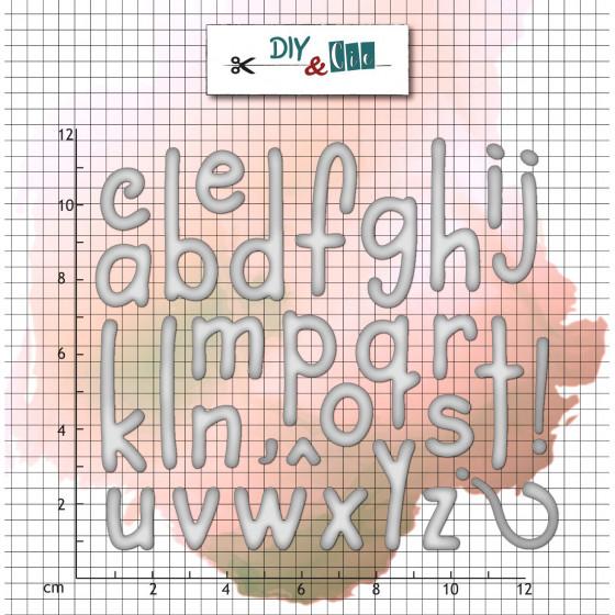 Die Alphabet Classique- DIY and Cie
