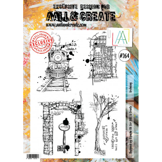 AALL and Create Stamp Set -264