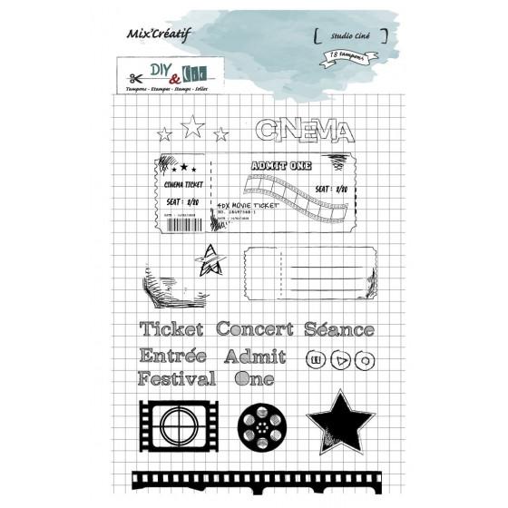 Tampon clear : Sudio Ciné - DIY and Cie