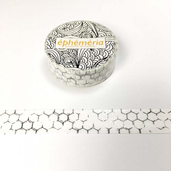 Washi Tape Hexagrunge- éphéméria