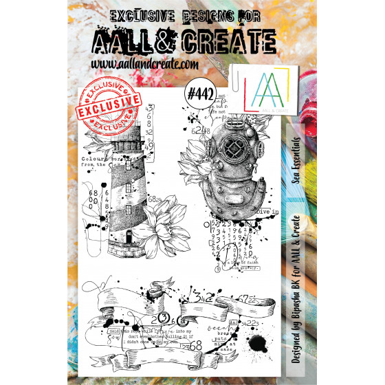 AALL and Create Stamp Set -442