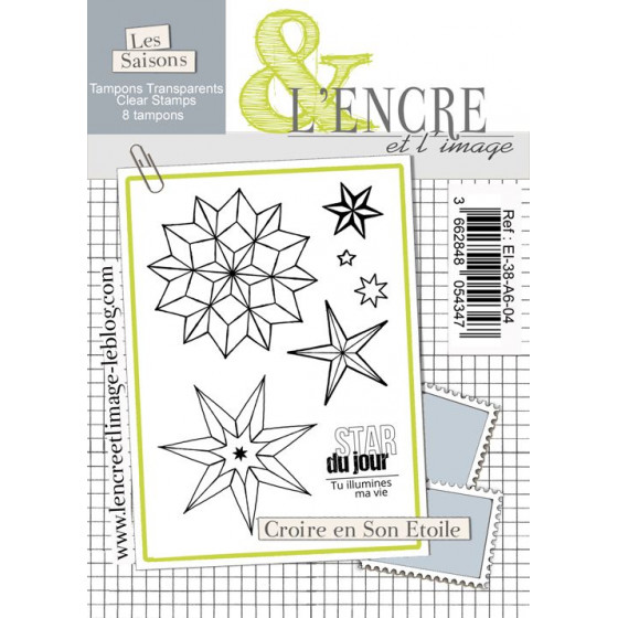 Clear Stamp - Believe in your Star - L'Encre et l'Image