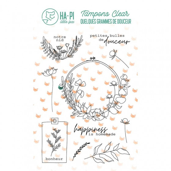 Clear stamps Notre nid - HA PI Little Fox