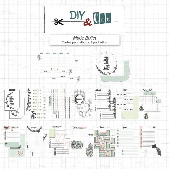 Set de Cartes Project Life : Mode Bullet - DIY and Cie