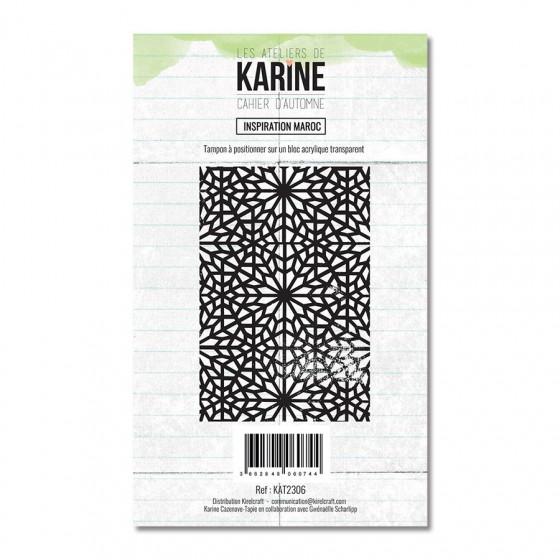 Tampon clear Cahier d'Automne Inspiration Maroc - Les Ateliers de Karine