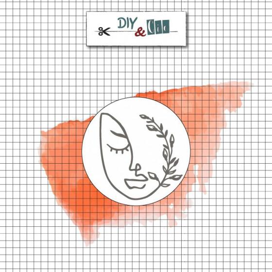 Sceau en laiton : Visage - DIY and Cie
