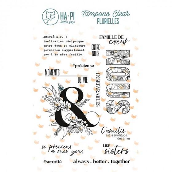 Clear stamp set Amie précieuse - HA PI Little Fox