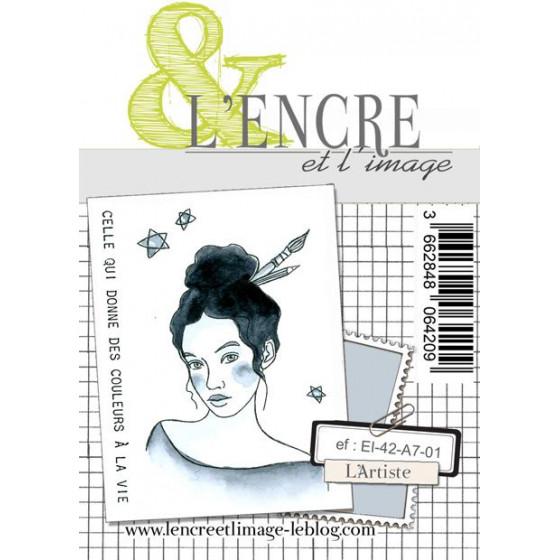 Clear Stamp - The Artist - L'Encre et l'Image