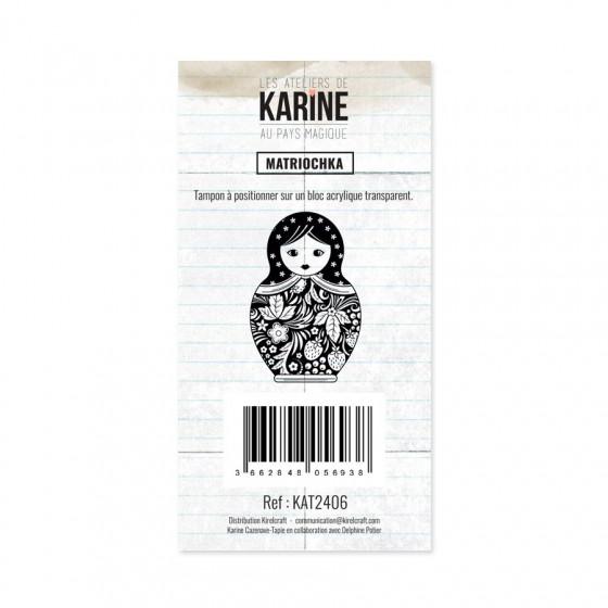 Clear Stamp Au Pays Magique Matriochka - Les Ateliers de Karine