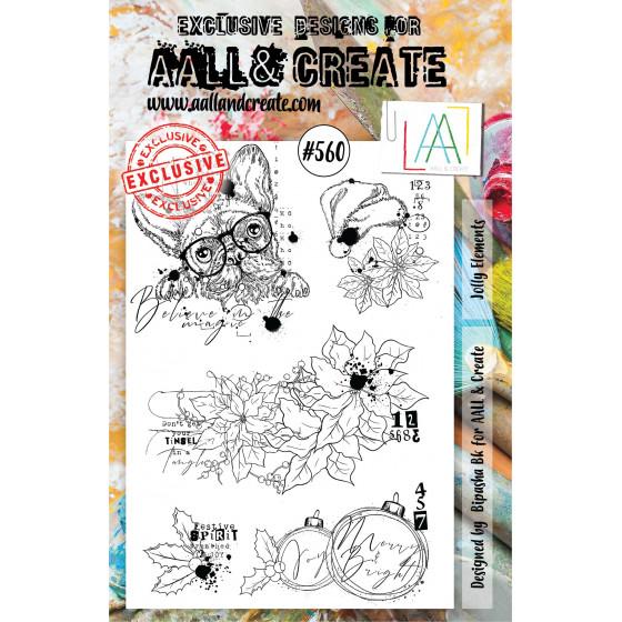 AALL and Create Stamp Set -560